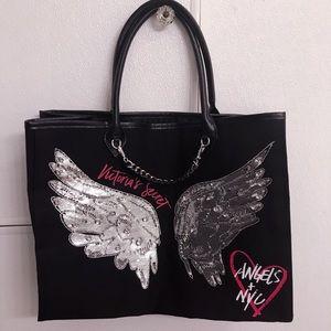 Victoria's Secret Sequin Angels + NYC Tote NWOT